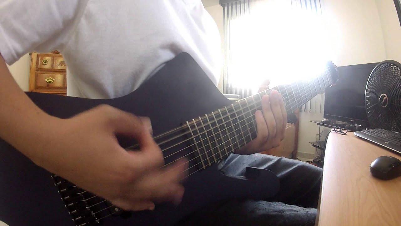 jay marrero acacia guitars custom 8 string iceman test youtube