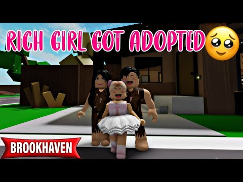 Download RICH GIRL GOT ADOPTED BY POOR FAMILY! - BROOKHAVEN RP (Brookhaven Rp Roblox)