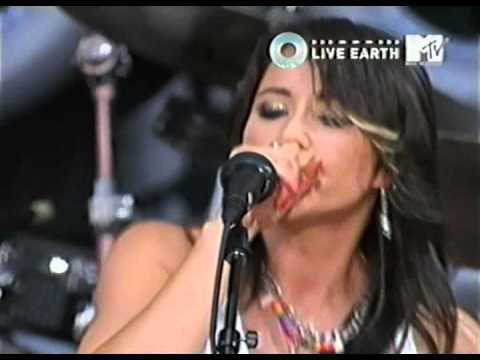 KT Tunstall (1) - Black Horse & The Cherry Tree - Live Earth New York City (USA) 7July 2007