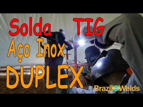 Solda TIG de aço inox DUPLEX (Video lesson - TIG Welding  stainless steel DUPLEX).avi