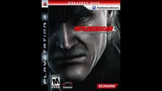 Metal Gear Solid 4 - Final Boss Second Phase BGM - Tanker Incident Alert Mode Looping Test