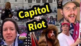 Capitol Riot | Comedy React | SmileyDaveUK
