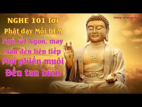 Nghe Lời Phật Dạy Mỗi Đêm Ngủ Rất Ngon May Mắn Liên Tiếp thuận lợi vô cùng