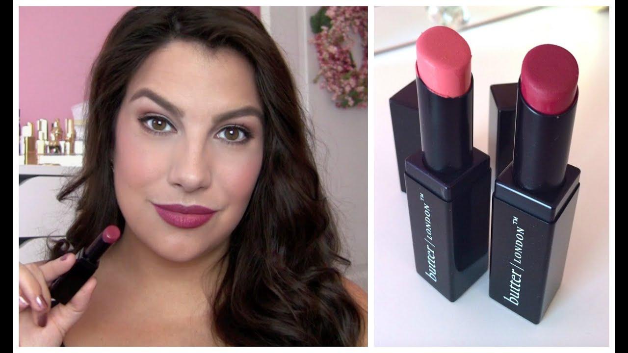Watch Make a Bold Statement with Lippy Moisture Matte Lipstick from Butter London video