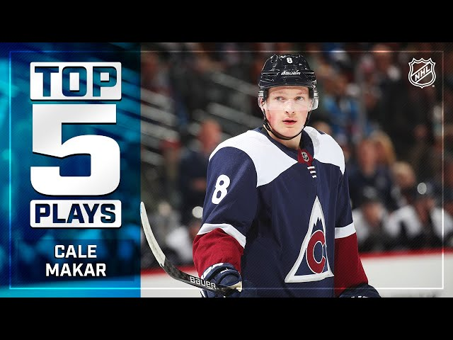 Top 5 Cale Makar Plays from 2019-20 | NHL