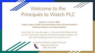 Principals to Watch #1