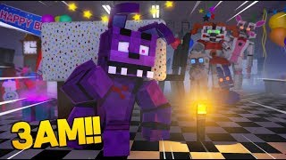 Minecraft FNAF: Do Not Visit FNAF At 3am (Minecraft FNAF Roleplay)