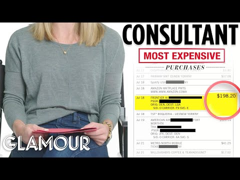 How One Woman Spends Her $110,000 Salary | Honest Accounts | Glamour