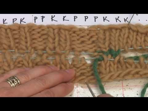 How to seam knit &amp; Purl stitch border with Kitchener stitch<a href='/yt-w/gCXUdGQup_Y/how-to-seam-knit-amp-purl-stitch-border-with-kitchener-stitch.html' target='_blank' title='Play' onclick='reloadPage();'>   <span class='button' style='color: #fff'> Watch Video</a></span>