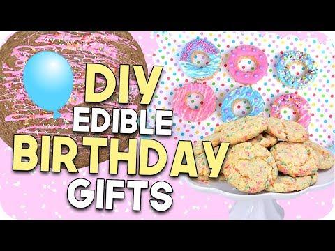 DIY Edible Birthday Gifts for Everyone! Easy + Cheap!