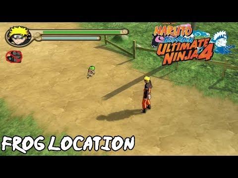 Naruto Shippuden: Ultimate Ninja 4 - All Frog Location - PCSX2 1.5.0 |