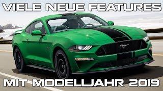 Viele neue Features mit Modelljahr 2019 - Ford rüstet den Mustang auf