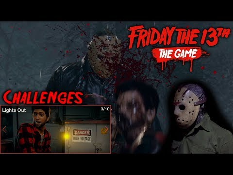 Friday the 13th the game - Gameplay 2.0 - Challenge 3 - Jason part 6