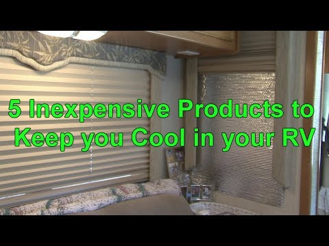 5 Inexpensive Products to Keep you Cool in your RV