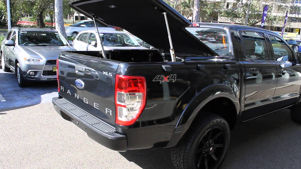 ford ranger electric hard cover youtube