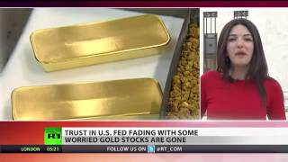 Gold Gone  Germany baffled as Fed bars access to bullion