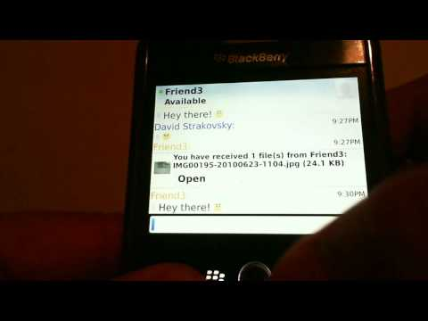 Google Talk for BlackBerry Review