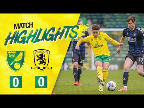 Norwich Middlesbrough Goals And Highlights
