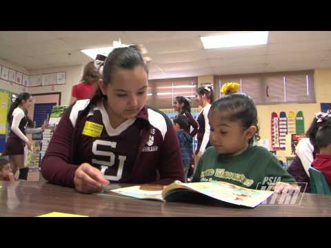 San Juan Middle School Cheer Readers