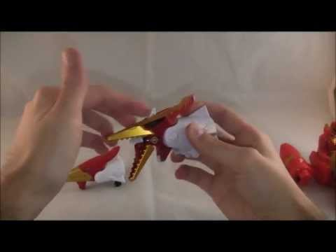Sky Brothers Zord Vehicle Review (Power Rangers Megaforce)