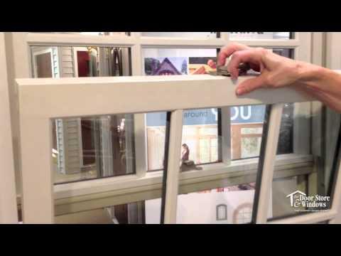 tilt out windows marvin ultimate double hung windows tiltout demonstration youtube