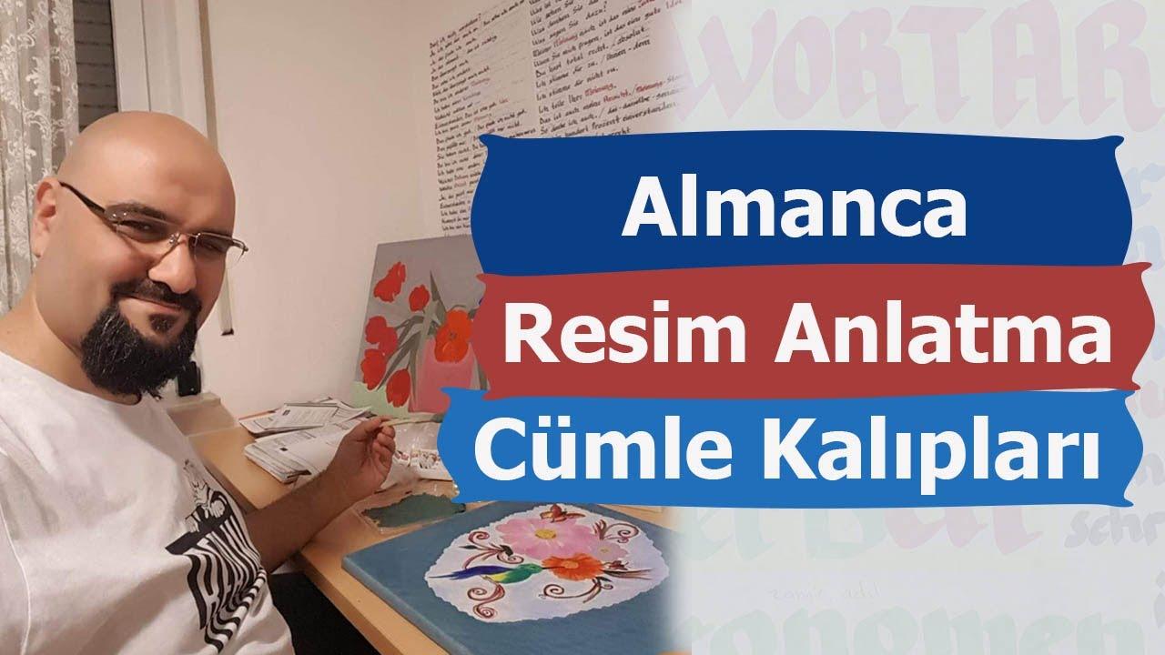 Almanca B1 Sınavı Resim Anlatma Cümle Kalıpları B1 2. Ders   Hacı Ahmet Altıner