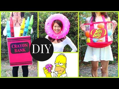 DIY Halloween Costumes For Kids & Teenagers! Last Minute Ideas