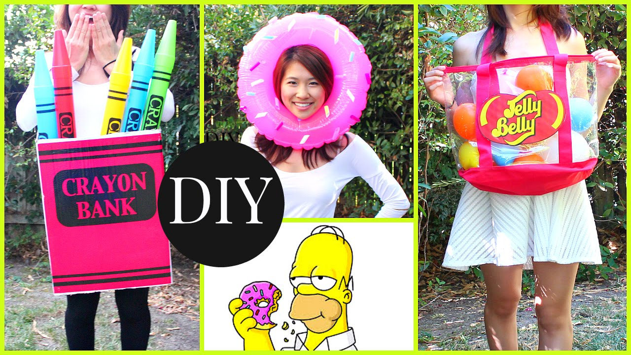 sc 1 st  YouTube & DIY Halloween Costumes for Kids u0026 Teenagers! Last Minute Ideas - YouTube