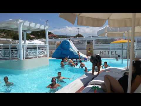Aphrodite Beach hotel - Vatera - Lesvos - Children pool