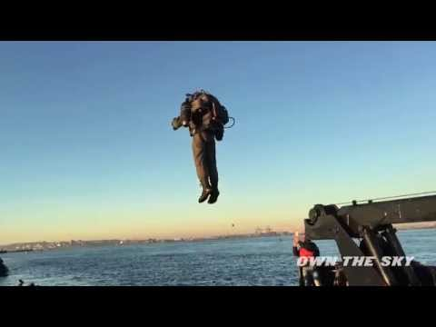 World's only JetPack flies in New York