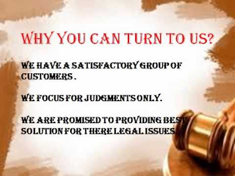 Get the help for your legal issues by professionals.