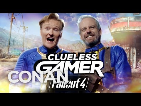 Clueless Gamer: 'Fallout 4'   CONAN on TBS