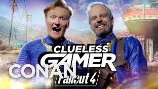 "Clueless Gamer: ""Fallout 4""  - CONAN on TBS"