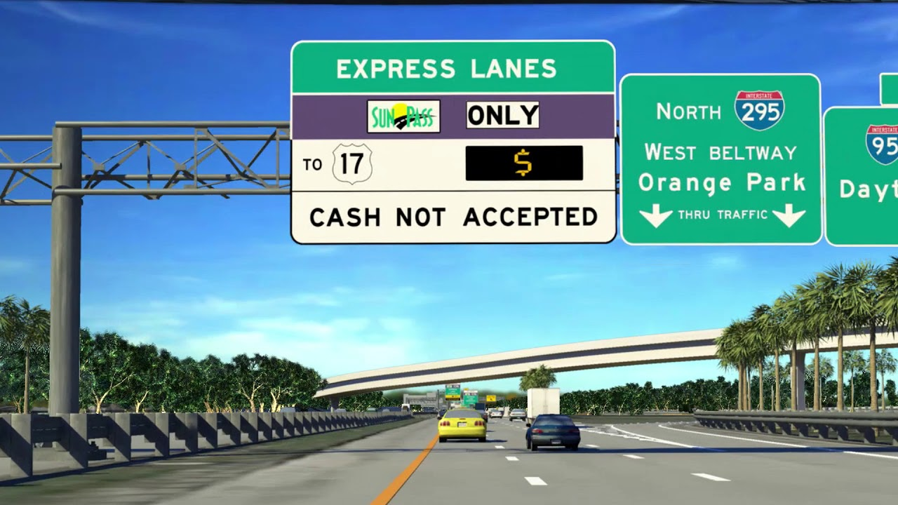 I-295 express lanes to open Saturday