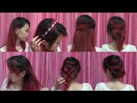 Hairstyles - 7 Cách Tết Tóc Đẹp Đi Chơi Tết Bất Chấp Đội Mũ Nón Bảo Hiểm