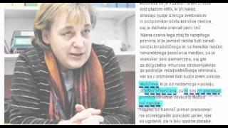 Tatjana Mušič - ista kot zdravnica Bora, le še na prostosti !