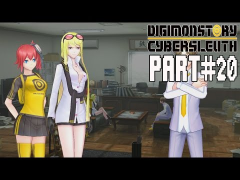 Digimon Story Cyber Sleuth Walkthrough Part 20 Gameplay Lets Play