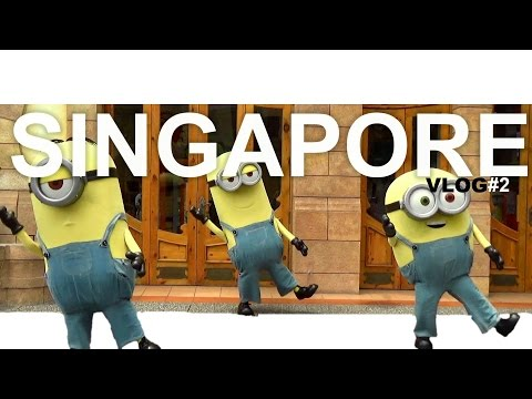 Universal Studio Singapore - VLOG IRone Family Goes to Singapore #2