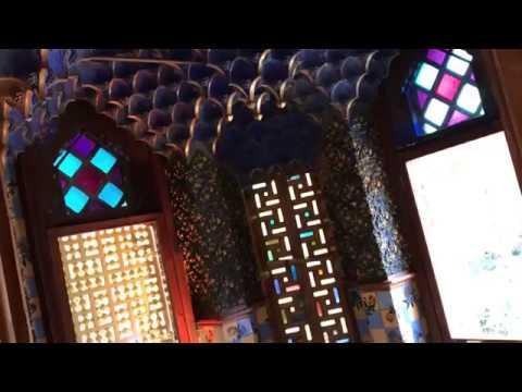 Mini tour of Casa Vicens Gaudì in Barcelona
