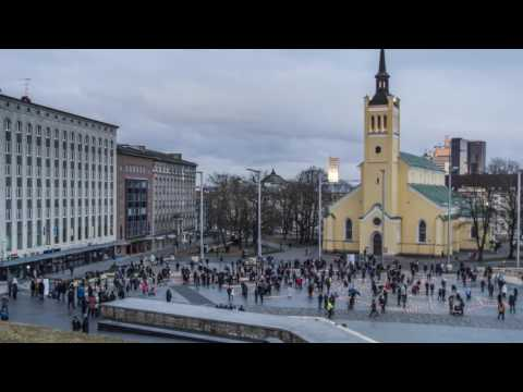 In memory of victims of Soviet deportations in Estonia - Timelapse video