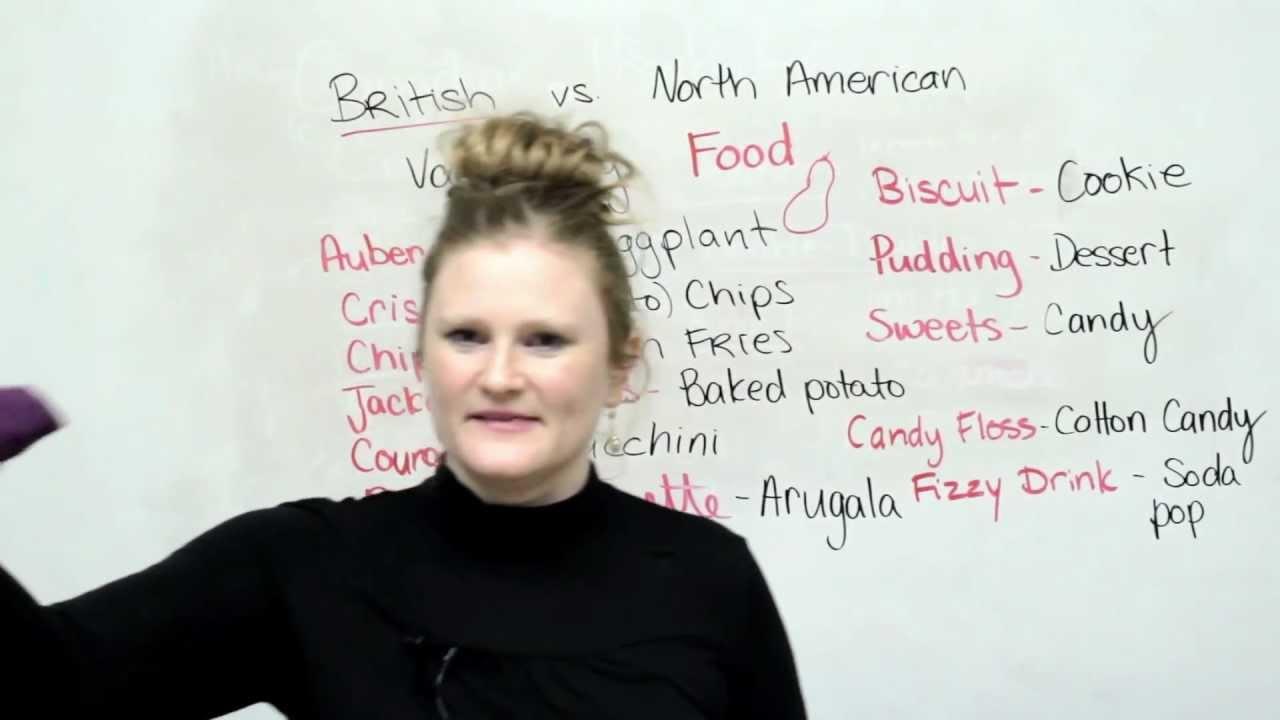 British & American English: Food Vocabulary · engVid