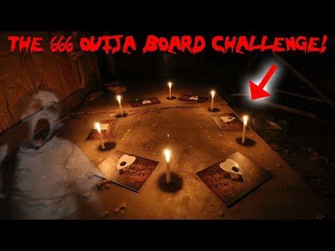 THE 666 OUIJA BOARD RITUAL CHALLENGE! *GONE WRONG* | MOESARGI