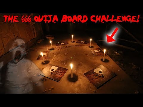 THE 666 OUIJA BOARD RITUAL CHALLENGE! *GONE WRONG POSSESSED BY DEMON* | MOESARGI