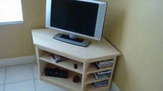 Bamboo Furniture Entertainment Center
