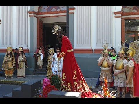 Vía Crucis en San José Costa Rica - Viernes Santo / Downtown San Jose