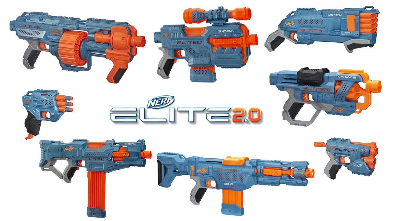 Nerf Elite 2.0 | Series Overview & Top Picks