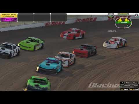 Street Stocks Dirt Eldora Speedway 7th to 3rd.