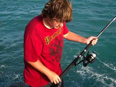 Vid00002 Mp4kenny Mears Jr Fishing At The Jupiter Inlet