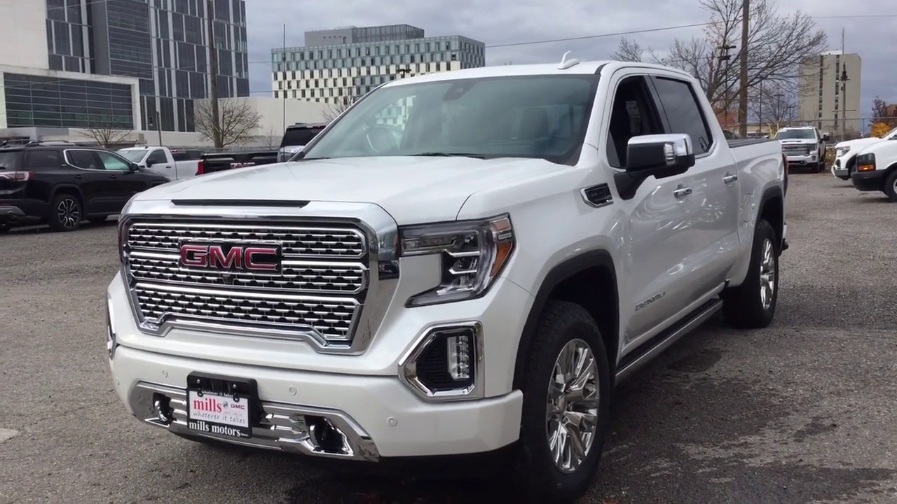 2020 Gmc Sierra Denali 1500 Hd Concept and Review