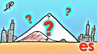 ¿Qué tan altas pueden ser las montañas?